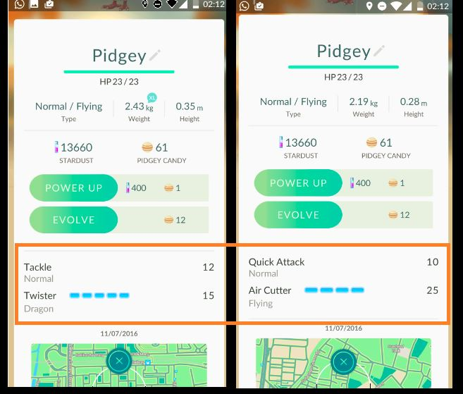 best moves and attacks of each pokemon in pokemon go